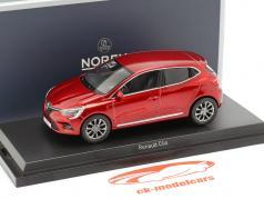 Renault Clio año de construcción 2019 llama rojo 1:43 Norev