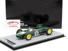 John Surtees Lotus 18 #9 2nd britisk GP formel 1 1960 1:18 Tecnomodel