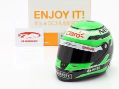 Nico Hülkenberg Force India VJM09 Formel 1 2016 Helm 1:2 Schuberth