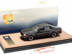 Mercedes-Benz AMG C126 6.0 Wide Body Bouwjaar 1984-1985 zwart 1:43 GLM