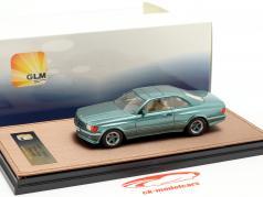 Mercedes-Benz AMG C126 6.0 Wide Body Bouwjaar 1984-1985 groen metalen 1:43 GLM
