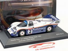 Porsche 956K #2 tercero 1000km Brands Hatch 1983 Bellof, Bell 1:43 CMR