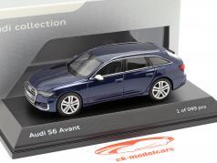 Audi S6 Avant Navarra azul 1:43 Jaditoys