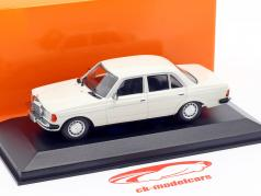 Mercedes-Benz 230E (W123) year 1982 white 1:43 Minichamps