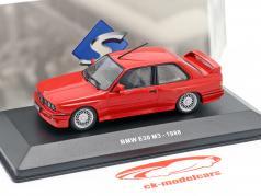 BMW M3 (E30) Bouwjaar 1988 rood 1:43 Solido
