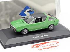 Renault 17 Baujahr 1974 grün metallic / schwarz 1:43 Solido