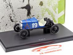 Ford A #19 Argentine 1929 Juan Manuel Fangio 1:43 AutoCult