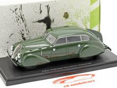 Adler Diplomat Stromlinie Autenrieth année de construction 1938 vert foncé 1:43 AutoCult