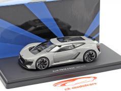 Audi PB18 e-tron année 2018 tapis argent gris 1:43 AutoCult