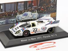 Porsche 917 K #22 Vencedor 24h LeMans 1971 Marko, Lennep 1:43 Spark