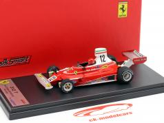 Niki Lauda Ferrari 312T #12 3e Italiaans GP wereldkampioen F1 1975 1:43 LookSmart