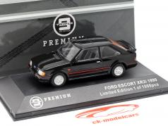 Ford Escort XR3i year 1990 black 1:43 Triple 9