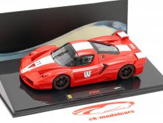 Ferrari FXX #11 red with white stripes 1:43 HotWheels Elite