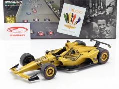 Mario Andretti 50e verjaardag Indy 500 kampioen 1969 Dallara Universal Aero Kit 1:18 Greenlight
