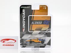 Fernando Alonso Chevrolet #66 Qualifying Indy 500 2019 McLaren Racing 1:64 Greenlight