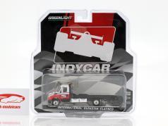 International DuraStar 4400 Flatbed Truck Indycar Series 2019 1:64 Greenlight
