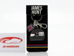 James Hunt McLaren M23 champion du monde formule 1 1976 Porte-clés casque