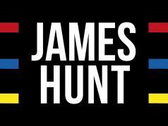 James Hunt McLaren M23 World Champion formula 1 1976 flag helmet 140 x 100 cm