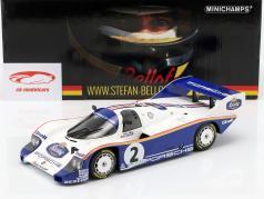 Porsche 956K #2 ganador 1000km Nürburgring 1984 Bellof, Bell 1:18 Minichamps