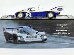 Porsche 956K #2 победитель 1000km Nürburgring 1984 Bellof, Bell 1:18 Minichamps