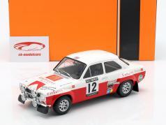 Ford Escort RS 1600 Mk1 #12 cuarto RAC Rallye 1971 Mikkola, Palm 1:18 Ixo