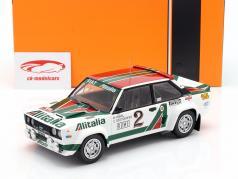 Fiat 131 Abarth #2 4 ° Rallye Monte Carlo 1978 Röhrl, Geistdörfer 1:18 Ixo