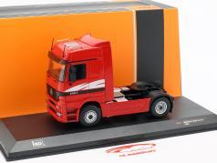 Mercedes-Benz Actros MP 1 vrachtwagen Bouwjaar 1995 rood 1:43 Ixo