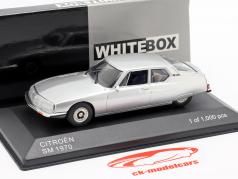 Citroen SM year 1970 silver 1:43 WhiteBox