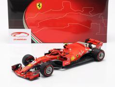 Kimi Räikkönen Ferrari SF71H #7 6th Kanada GP Formel 1 2018 1:18 BBR
