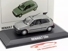 Renault Clio année de construction 1990 gris métallique 1:43 Norev