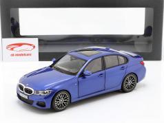 BMW 3 Series Limousine (G20) année de construction 2019 portimao bleu 1:18 Norev