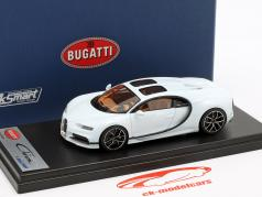 Bugatti Chiron Sky View Pebble Beach Version 2018 glacier blanc 1:43 LookSmart