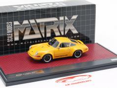 Porsche 911 Singer Design 2014 oranje 1:43 Matrix