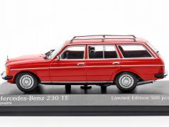Mercedes-Benz 230 TE (W123) Bouwjaar 1982 rood 1:43 Minichamps