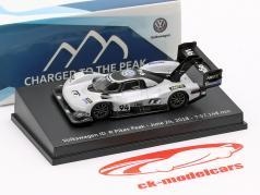 Volkswagen ID.R #94 Pikes Peak Optag juni 24th, 2018 7:57.148 min Romain Dumas 1:87 Spark