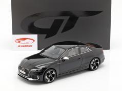 Audi RS5 año de construcción 2017 negro 1:18 GT-Spirit
