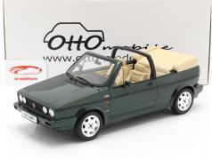 Volkswagen VW Golf Mk1 Cabriolet Classic Line 1992 green 1:12 OttOmobile