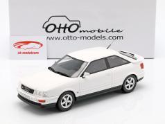 Audi 80 S2 coupé année de construction 1991 perle blanc 1:18 OttOmobile