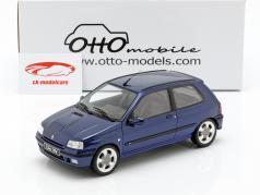 Renault Clio 16V Phase 2 ano de construção 1995 Monaco azul 1:18 OttOmobile