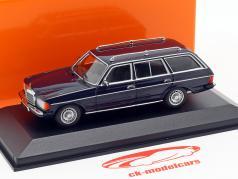 Mercedes-Benz 230 TE (W123) Год постройки 1982 синий 1:43 Minichamps