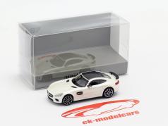 Mercedes-Benz AMG GTS year 2015 white metallic 1:87 Minichamps