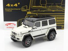 Mercedes-Benz G500 4x4² Concept année de construction 2015 polaire blanc 1:18 Almost Real