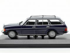 Mercedes-Benz 230 TE (W123) Bouwjaar 1982 blauw 1:43 Minichamps