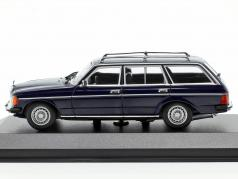 Mercedes-Benz 230 TE (W123) year 1982 blue 1:43 Minichamps