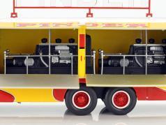 Bernard 28 Electrical Truck Pinder Zirkus Baujahr 1951 gelb / rot 1:43 Direkt Collections
