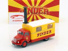 Unic ZU 51 cocina camión Pinder circo año de construcción 1952 amarillo / rojo 1:43 Direkt Collections