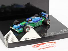 Mick Schumacher Benetton B194 #5 Demo Run GP Spa fórmula 1 2017 1:43 Minichamps