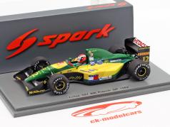 Johnny Herbert Lotus 107 #12 6th fransk GP formel 1 1992 1:43 Spark