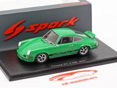 Porsche 911 Carrera RS 2.7 year 1973 green 1:43 Spark