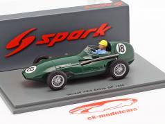 Jose Froilan Gonzalez Vanwall VW2 #18 britannico GP formula 1 1956 1:43 Spark